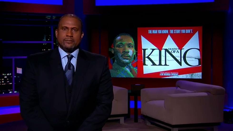 T. Smiley Interviews Obama, Angelou, Belafonte & more on MLK image