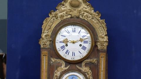 Antiques Roadshow -- Appraisal: Le Roy & Fils Wall Clock, ca. 1870