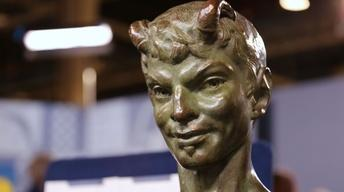 """S22 Ep3: Appraisal: Richmond Barthé Bronze """"Pan"""" Sculpture,"""
