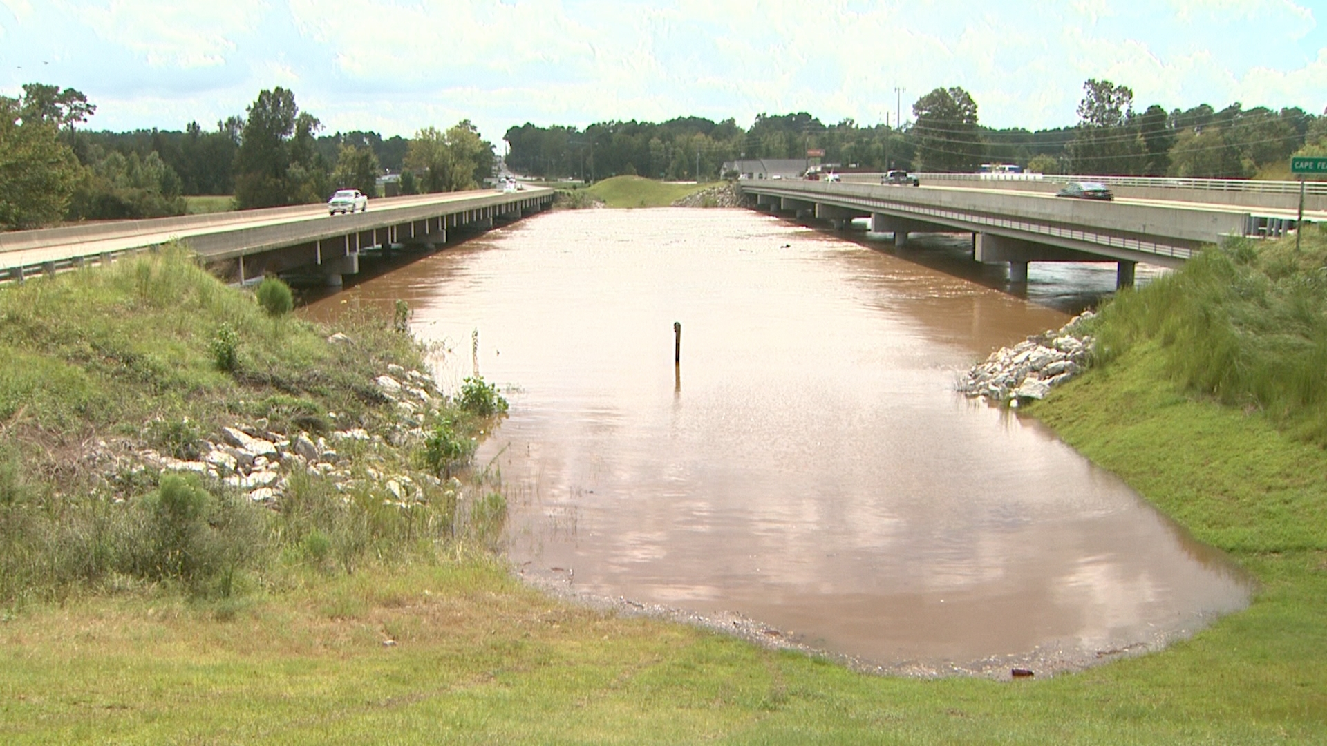 Hurricane Florence Flooding: Cape Fear River, Lil