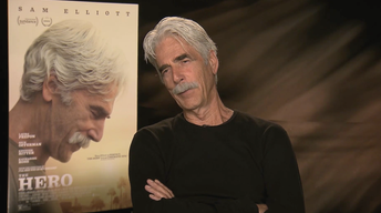 "Sam Elliott for ""The Hero"""