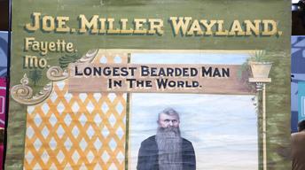 """S22 Ep7: Appraisal: 1901 """"Longet Bearded Man"""" Banner"""
