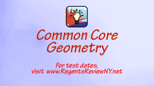 Common Core Geometry
