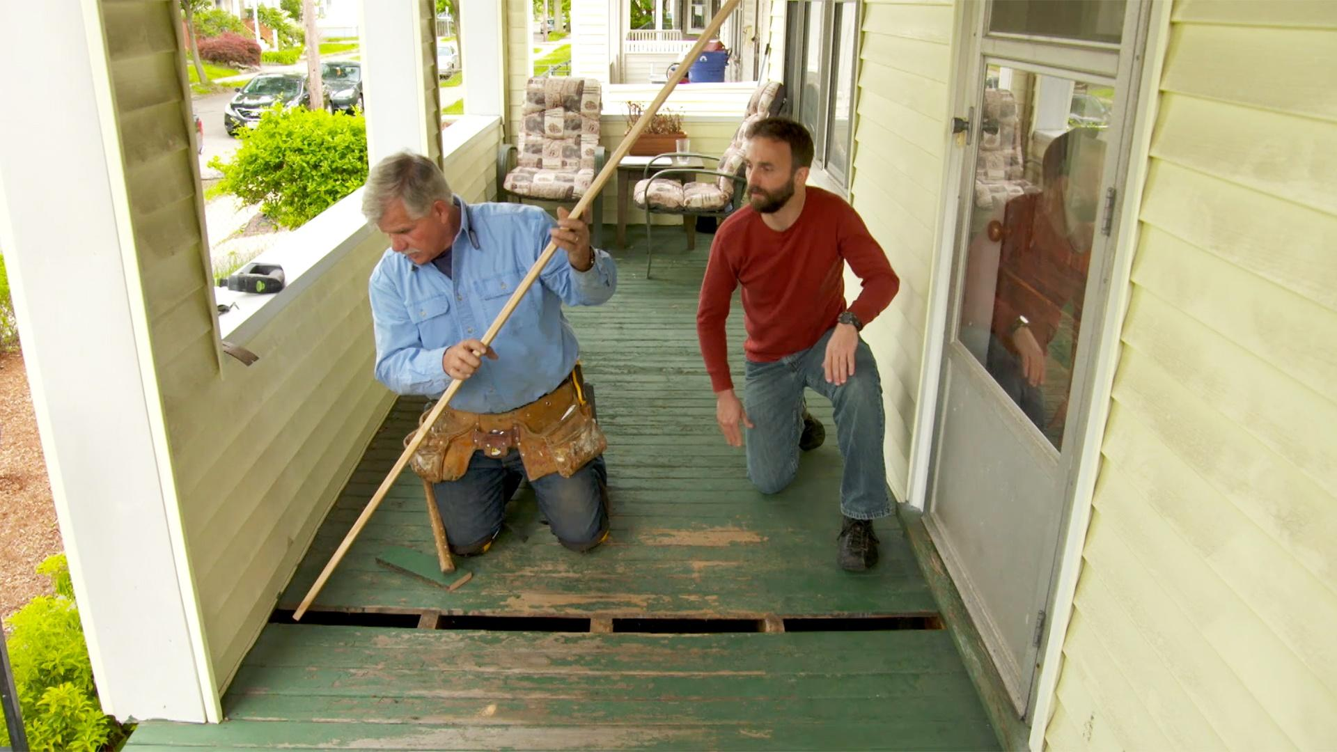 How to Replace a Broken Front Porch Board