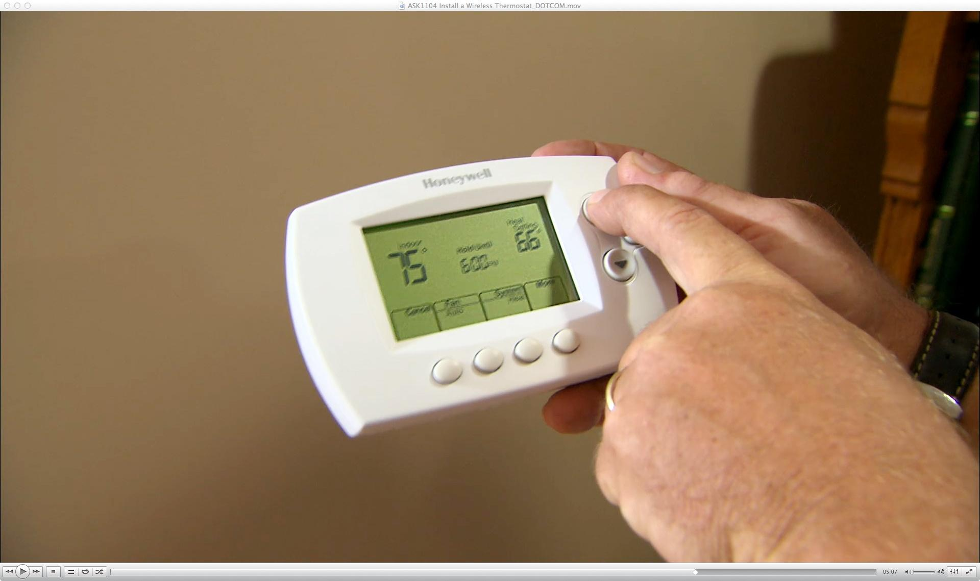 How to Install a Wireless Thermostat