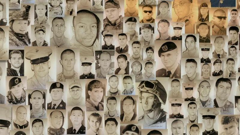 Portraits of Fallen Heroes