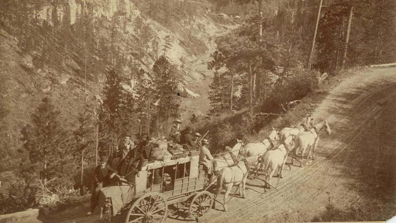 Trails, Rails, and Roads of the Black Hills