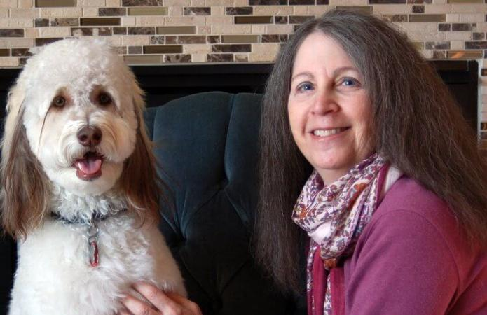 Older Volunteers and Patients Win With Therapy Dog Visits