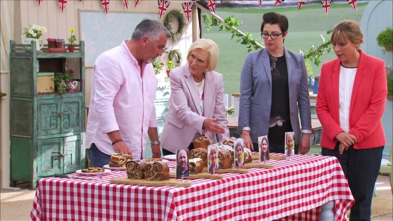 "GREAT BRITISH BAKING SHOW ""Advanced Dough"""