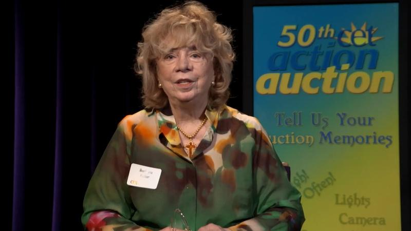 CET Auction Stories: Barbara Kellar