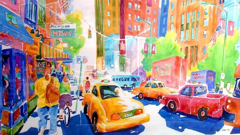 Don Marek's Watercolors