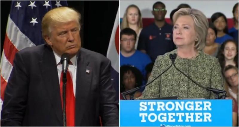 Trump vs. Clinton: Round One