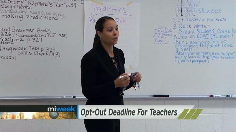 Election Season / Teacher Deadline / Bankruptcy Trial / End