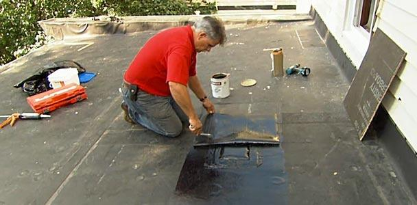 How to Patch a Leaking Rubber Roof