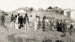 Image of Ashkenazi Jews Arrive in Palestine