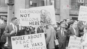 Image of Khrushchev's Cool Welcome in NY