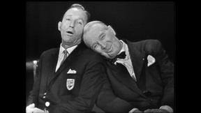 Image of Bing Crosby and Maurice Chevalier Duet