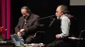 Image of Ricky Jay and Art Spiegelman in Conversation