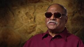 Image of Clark Terry on Touring the South with All-Black Band