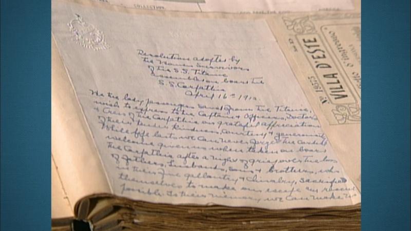 Appraisal: 1912 Titanic Survivors Letter