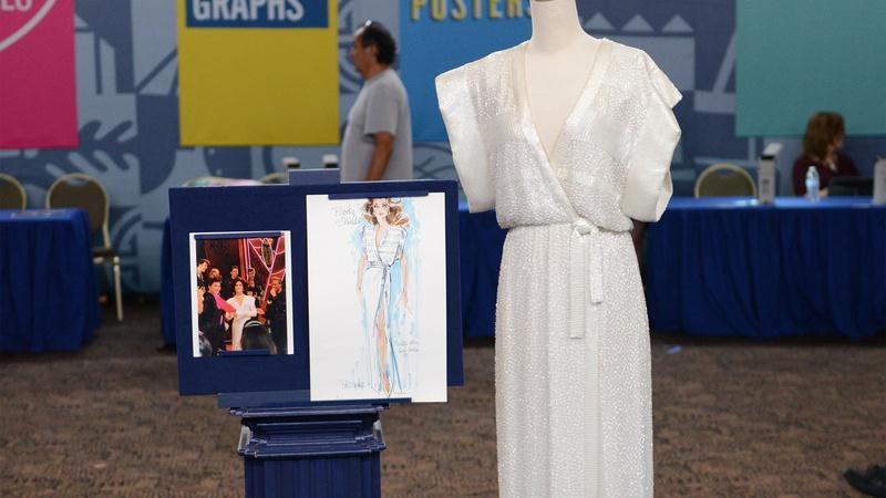 Appraisal: 1982 Brooke Shields's Bob Mackie Beaded Gown