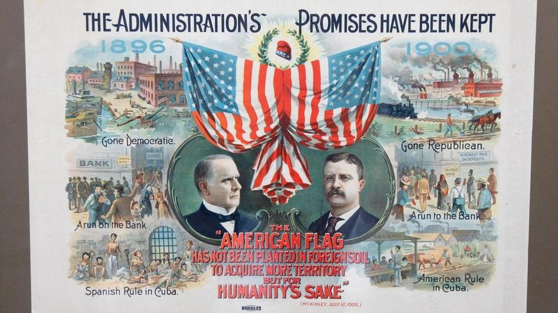 POSTER: 1900 McKinley-Roosevelt Campaign