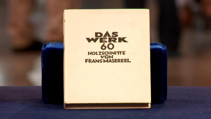 """Web Appraisal: 1928 Frans Masereel First Ed. """"Das Werk"""""""