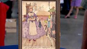 Image of Appraisal: Violet Brunton Watercolor, ca. 1895