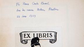 "Image of Appraisal: 1929 W. Faulkner Inscribed ""Sartoris"" First Ed."