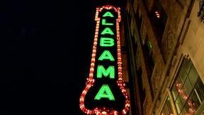 "Image of The Alabama Theatre and ""Big Bertha"""