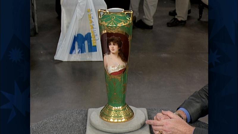 Appraisal: Dresden Porcelain Vase, ca. 1910