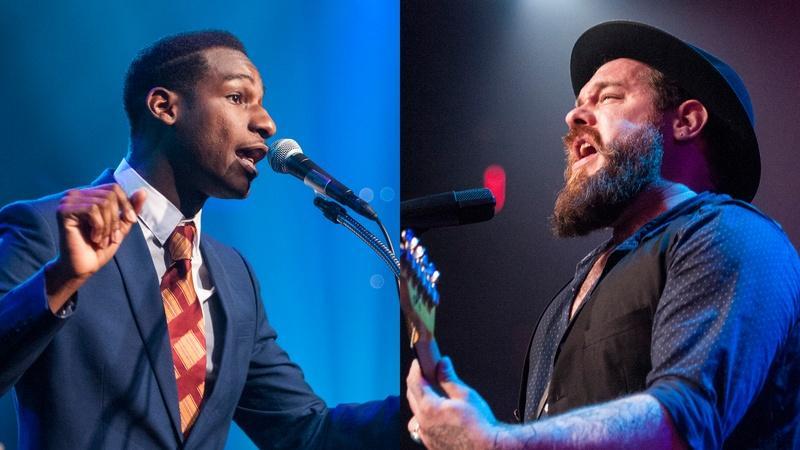 Leon Bridges, Nathaniel Rateliff & The Night Sweats Perform