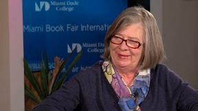 Image of Barbara Ehrenreich Interview at Miami Book Fair