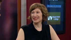 Image of Laura Kipnis Interview at Miami Book Fair
