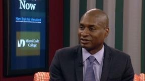 Image of Charles M. Blow Interview at Miami Book Fair