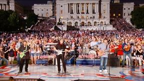 Image of The Alabama Band live from the West Lawn of the US Capitol