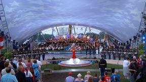 Image of Nicole Scherzinger Sings the National Anthem