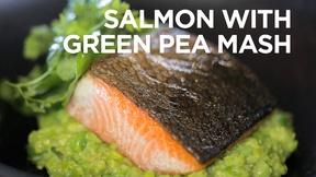 Image of Salmon with Green Pea Mash