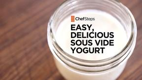 Image of Easy, Delicious Sous Vide Yogurt