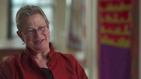 Image of Julie Silber talks about her love of quilts