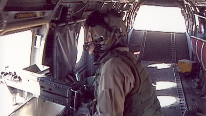 U.S. Marine Corps veteran Jennifer Vollbrecht