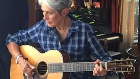 Image of Joan Baez on activism, Vietnam, and the guitar