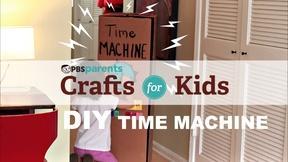 Image of DIY Cardboard Time Machine