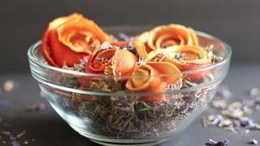 Image of Citrus Peel Roses