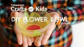 Image of Tissue Paper Flower Bowl