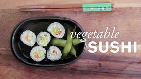 Image of Vegetable Sushi