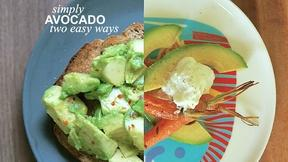 Image of Simply Avocado: Two Easy Ways