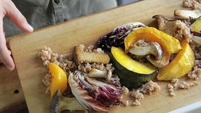 Image of Veggie Showstopper with Mushrooms & Farro