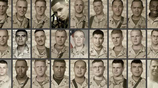 The Wounded Platoon: The Platoon Roster