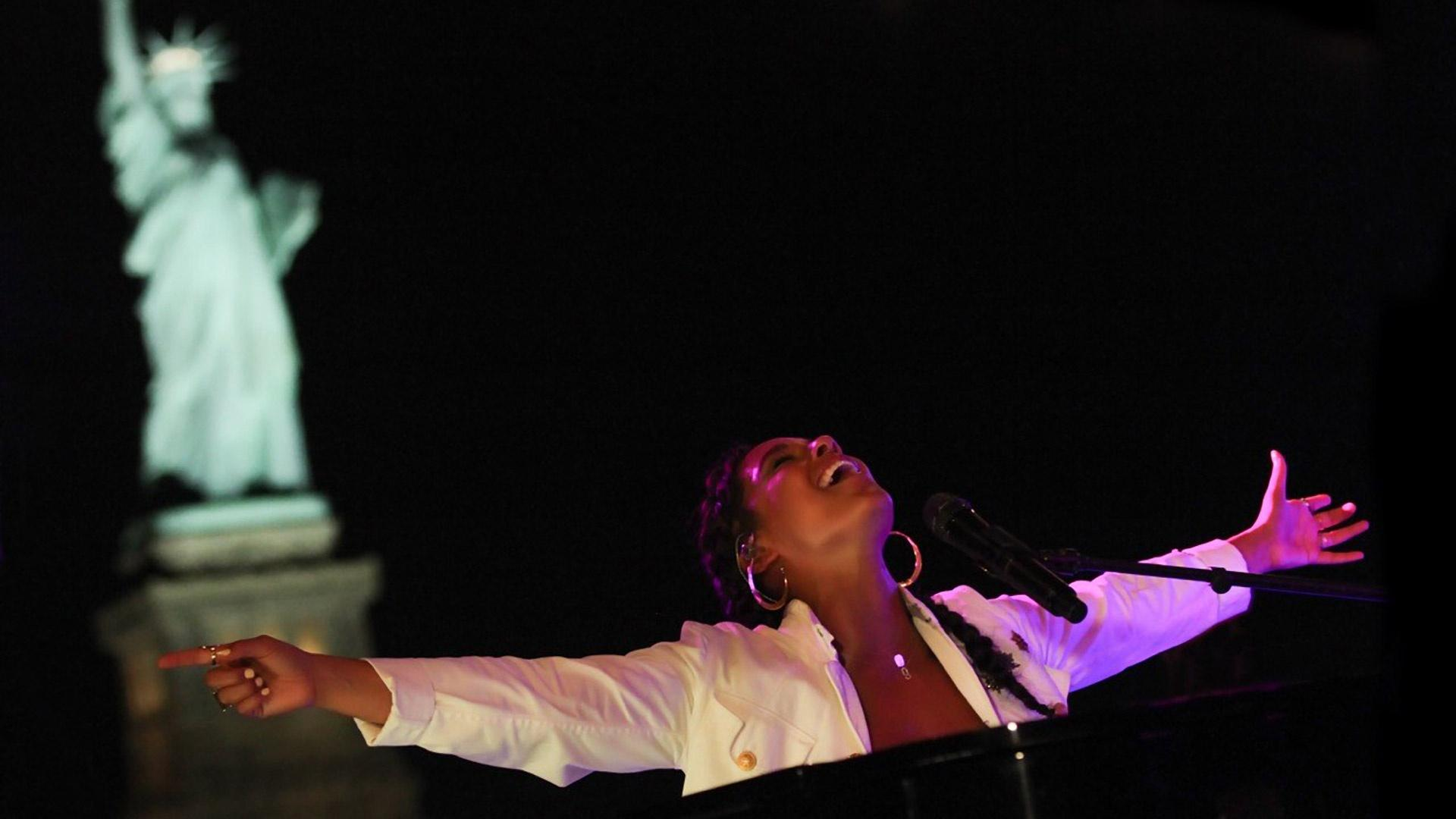 A Great Performances Special | Alicia Keys – Landmarks Live in Concert